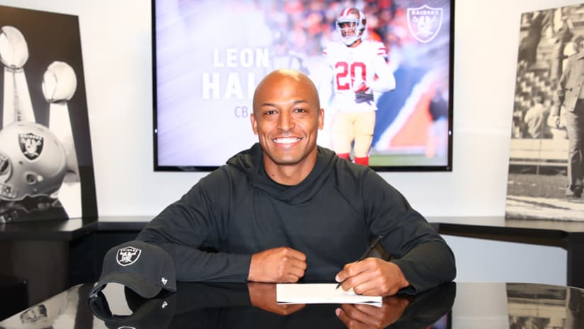 Raiders Sign Cornerback Leon Hall