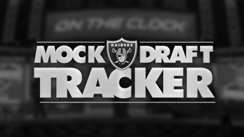 Oakland Raiders 2018 Mock Draft Tracker  1.0 b54bd3c1f