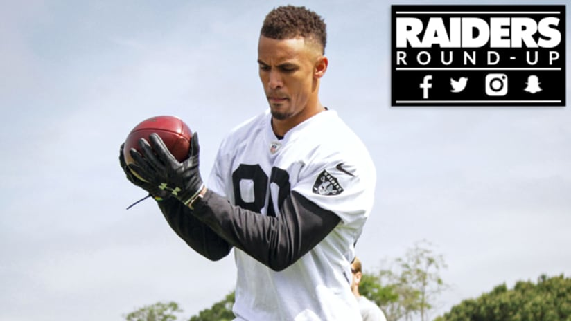 newest collection 14ab3 8475d Raiders Round-Up: Pharaoh Brown And Jylan Ware Give Back ...