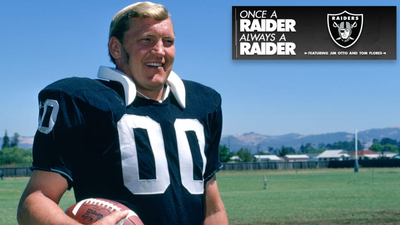 Once a Raider, Always a Raider: Tom Flores, Jim Otto