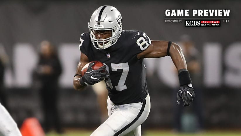 raiders set to host division rival chiefs sunday at the oakland