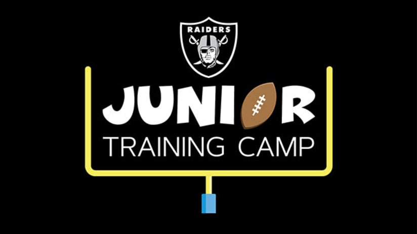 Now Accepting Raiders Junior Training Camp Applications!