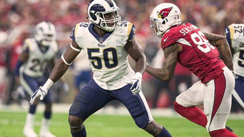 a8ecf94a3 Outside linebacker Samson Ebukam became the fifth Rams rookie to start in a  game this season