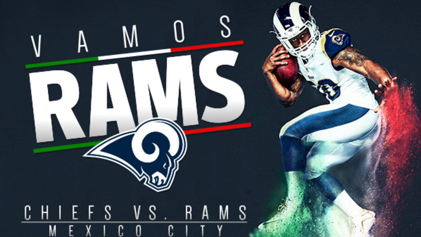 Los Angeles Rams To Host Kansas City Chiefs In Mexico City In 2018