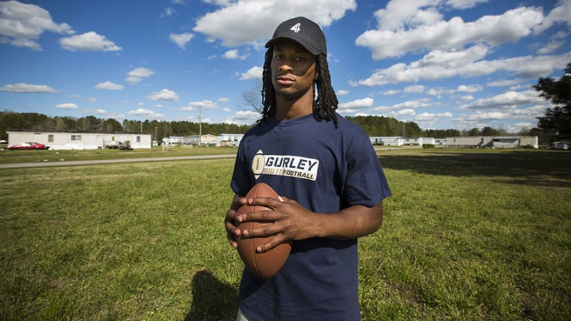 3b1b20d59 Tarboro Tough: Todd Gurley's Journey From North Carolina to the NFL