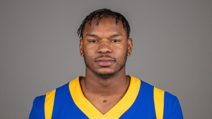 7466865fc Tight end (81) Gerald Everett of the Los Angeles Rams headshot, Monday,