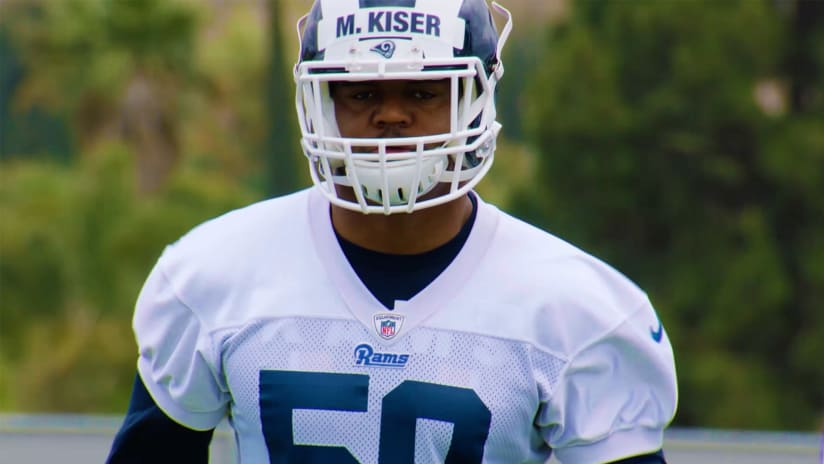 hot sale online 9276c 26022 Path to the Rams: Micah Kiser