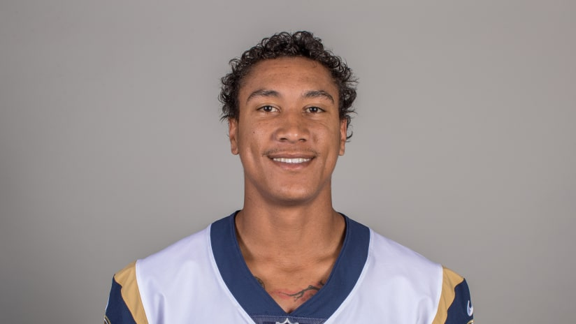 Headshot of wide receiver (83) Josh Reynolds of the Los Angeles Rams efb25eef3