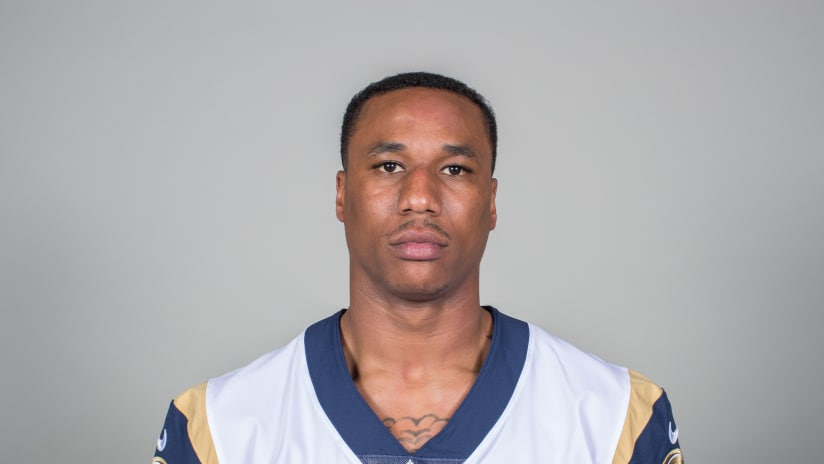 Headshot of cornerback Marcus Peters of the Los Angeles Rams d44c346e1