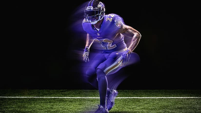 huge discount a0ae5 36eb0 ravens colour rush jersey