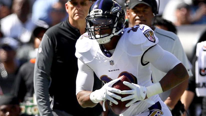 6ac1b2ff707 The Ravens survived with top cornerback Jimmy Smith playing just seven  snaps against the Oakland Raiders because of a sore Achilles.