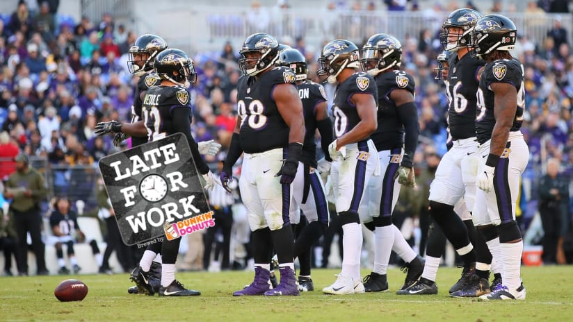 Late for Work 11 5  Ravens at a  Crossroads  After Loss to Steelers 6d85527f8