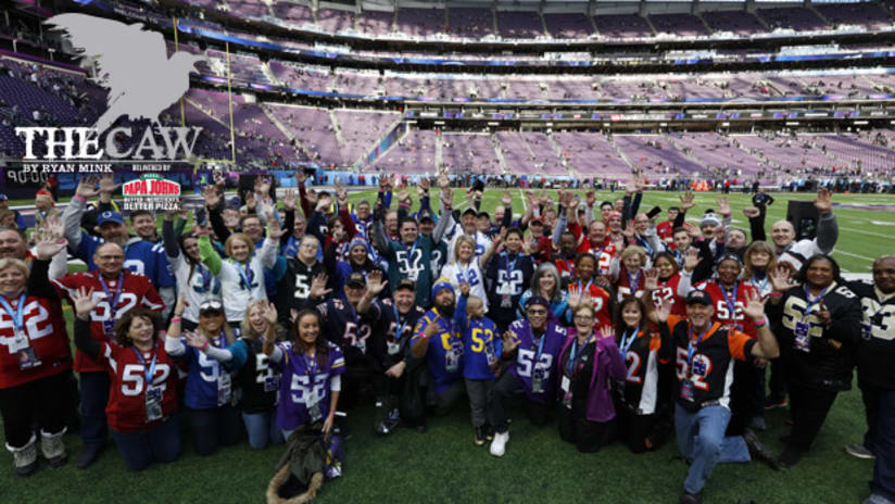 The Caw  Real Fan Dan Shares His Awesome Super Bowl Adventure 04f98649b