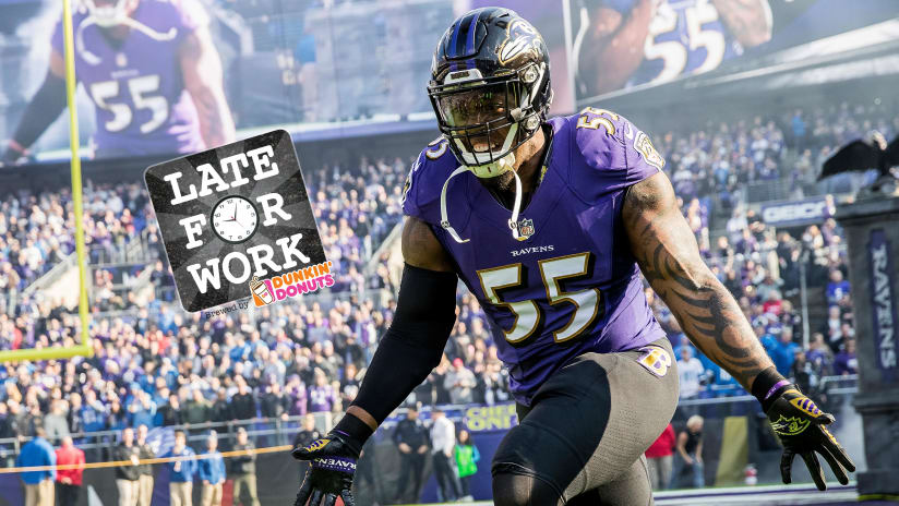 Terrell Suggs One of Two Active Players From 2003 Draft  Wants to Re-Sign  With Ravens After Season 49ac448a5