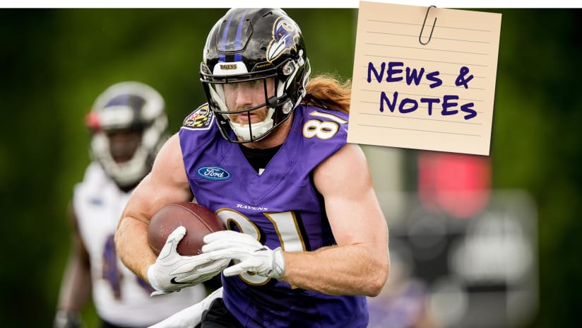 b9bb4bf1f News   Notes 10 24  Hayden Hurst Is Looking to Bust Loose