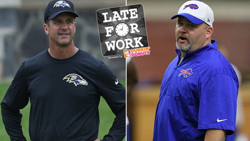 Late For Work 1 10  Ravens Reportedly In Contact With Greg Roman For  Offensive Coaching Job 08a2baf66