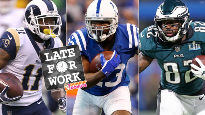 Late for Work 3 2  Ravens Free Agency Whispers From Combine on Austin 1c9ebfe15