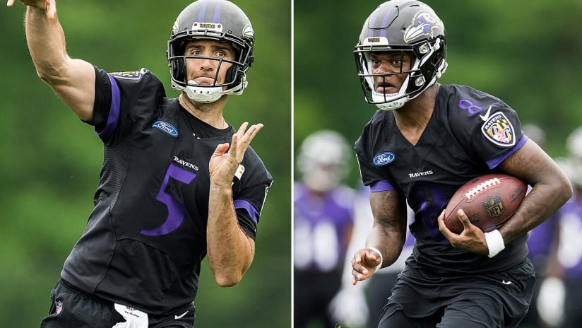 6a456cb5d 052518 LamarFlaccoTrickPlays. Ravens coaches always knew they wanted to use Lamar  Jackson ...