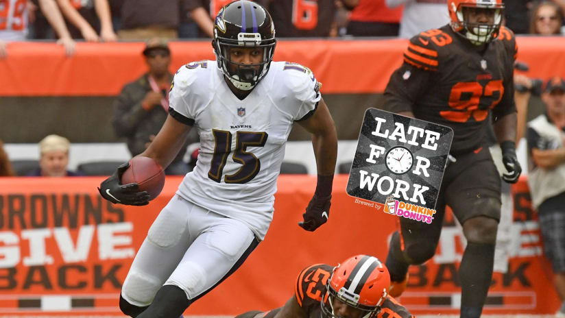 493b26a3 Late for Work 10/9: Michael Crabtree, Impact From Top Picks ...