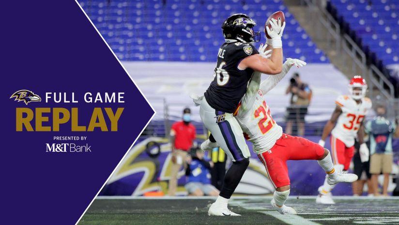 Full Game Replay Ravens Vs Chiefs
