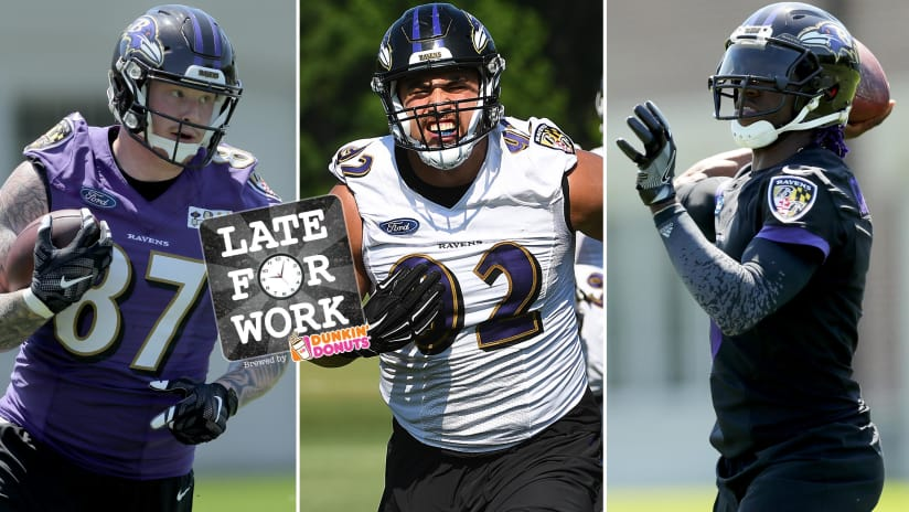 723f1de91 Late for Work 6 21  Sizing up Ravens Roster With Locks