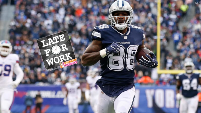 1ec9ce927 Late for Work 11 8  What Might Have Been. Ravens Target Dez Bryant ...