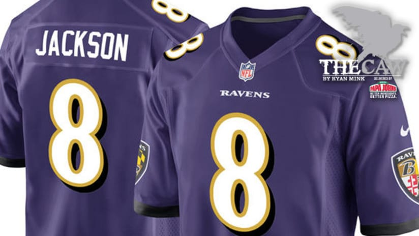 pretty nice 69f28 6021d The Caw: Lamar Jackson's Ravens Jersey Is Already a Very Hot ...