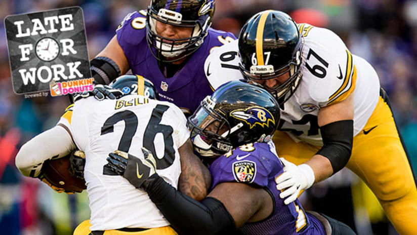 bc8c3f1f060 Late For Work 11 9  Ravens Jump Up National Power Rankings After Beating  Steelers