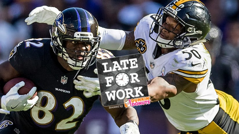 Late for Work 12 7  Ryan Shazier Sends Steelers Hospital Request  Beat  Ravens 75d483e55