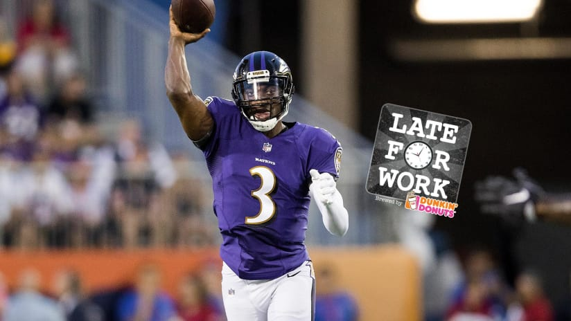 the best attitude 831ac dea4f Late for Work 9/26: Will Ravens Trade Robert Griffin III to ...