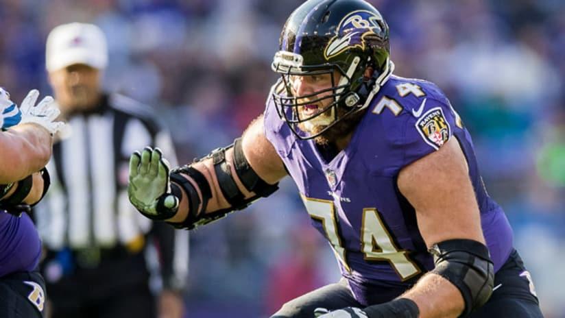 Ravens Re-Sign Versatile Offensive Lineman James Hurst to 4-Year Deal