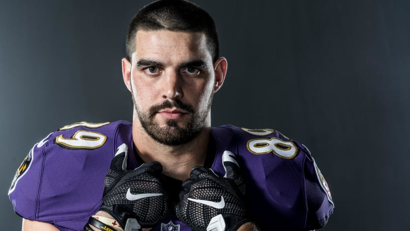 16498385c Ravens Rookie Mark Andrews Takes on Defenders and Diabetes. Clifton-Brown.  Clifton Brown. BaltimoreRavens.com Staff Writer. 092818 MarkAndrews