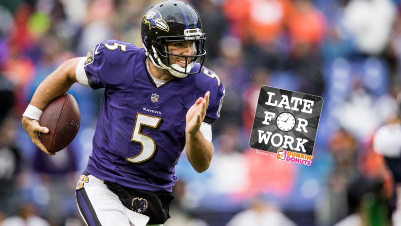 Late for Work 9 27  How Much Longer Will Teams Dare Joe Flacco to ... 73eb7299e