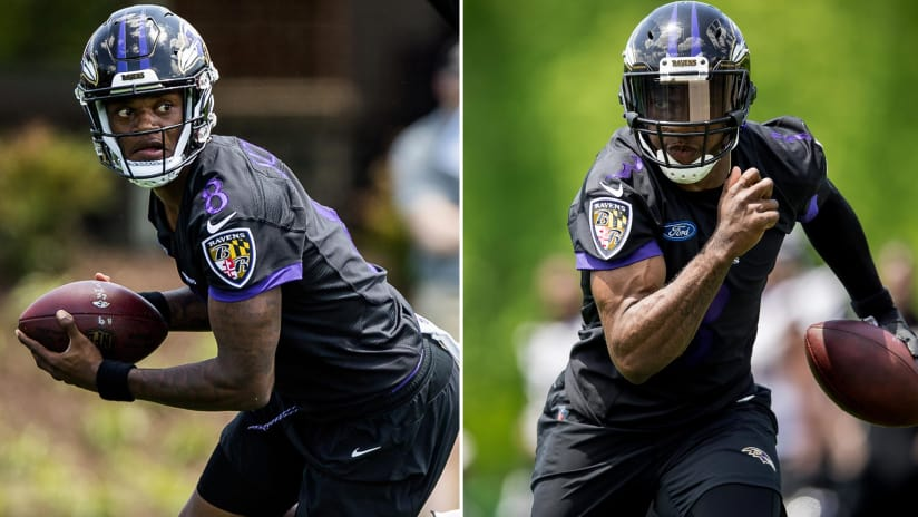 Mentor Robert Griffin III Looks at Lamar Jackson Like a Little Brother c4355309e