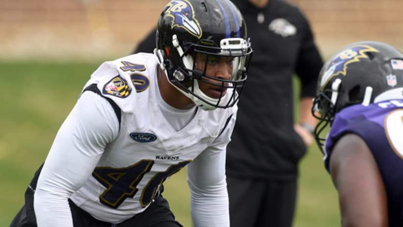 94b94ee5 Eight Ravens Draft Picks Sign During Rookie Minicamp