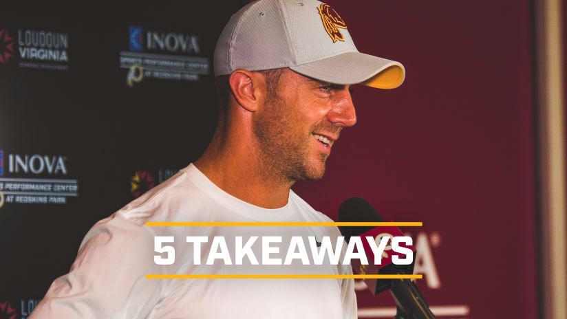 81240e015 5-takeaways-alex smith. Here s five takeaways from Redskins quarterback  Alex Smith s ...