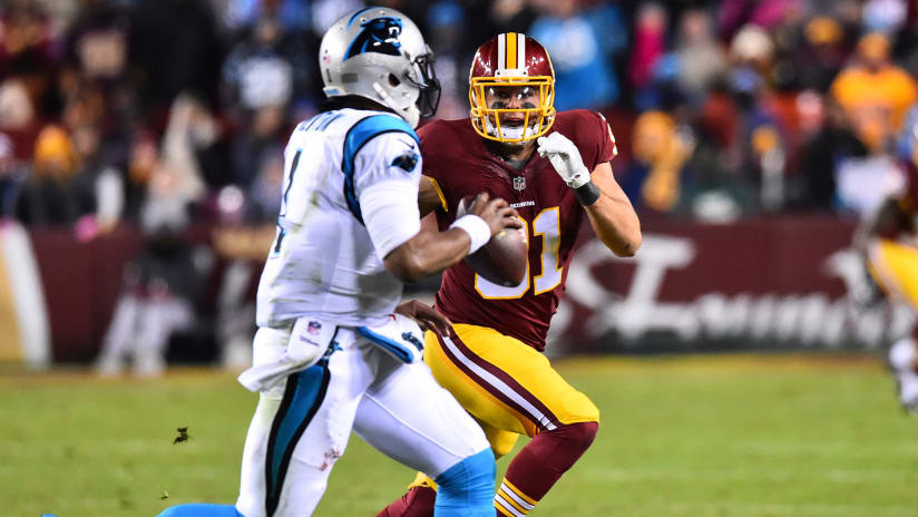 e0d533570 Defense Looks To Bounce Back With Another Tough Task: Contain Cam Newton  And Christian McCaffrey