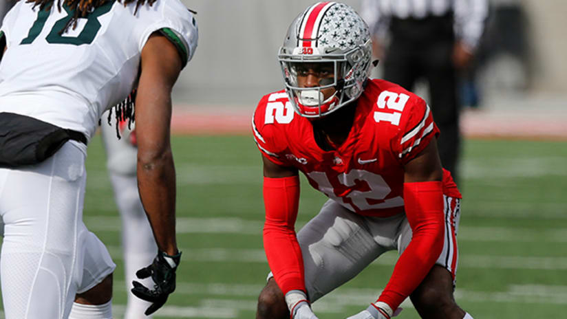 1055072fa8e Coming off a season in which he was an All-American for Ohio State,  cornerback Denzel Ward could be taken early in the 2018 NFL Draft.