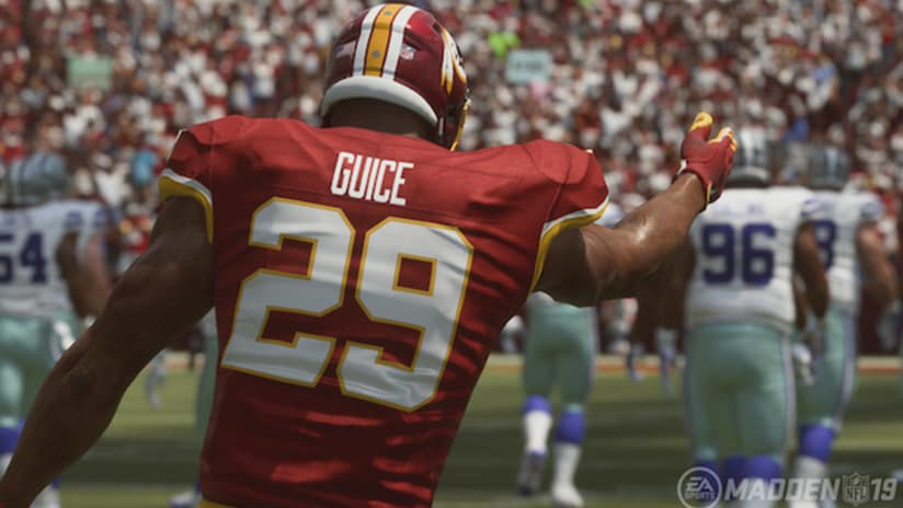 ca778cfc5 Madden 19 Believes Derrius Guice Is Ready To Break Out