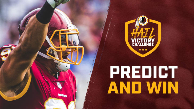 Predict The Redskins Record And You Could Meet A Player c7f447731