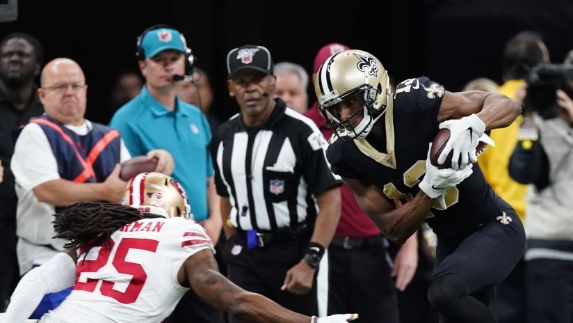 Every One Of Michael Thomas 11 Catches Vs 49ers Week 14