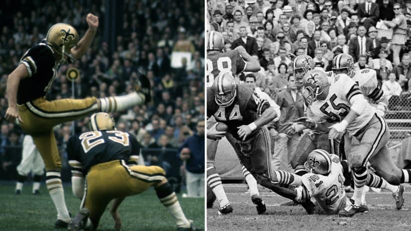 Saints Uniform History | NewOrleansSaints com