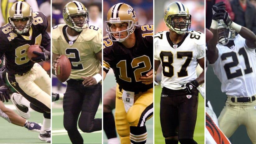 Saints Uniform History | NewOrleansSaints.com
