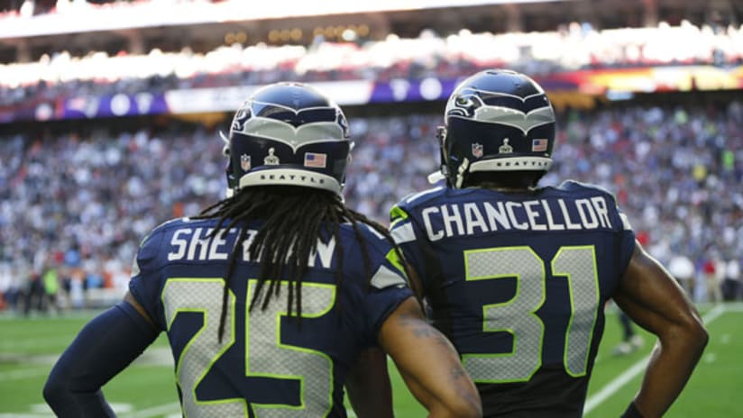 Kam Chancellor, Richard Sherman and Earl Thomas played with, and
