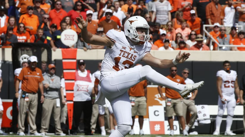 5d41bd616 Seahawks Draft University Of Texas Punter Michael Dickson In Fifth Round Of  2018 NFL Draft