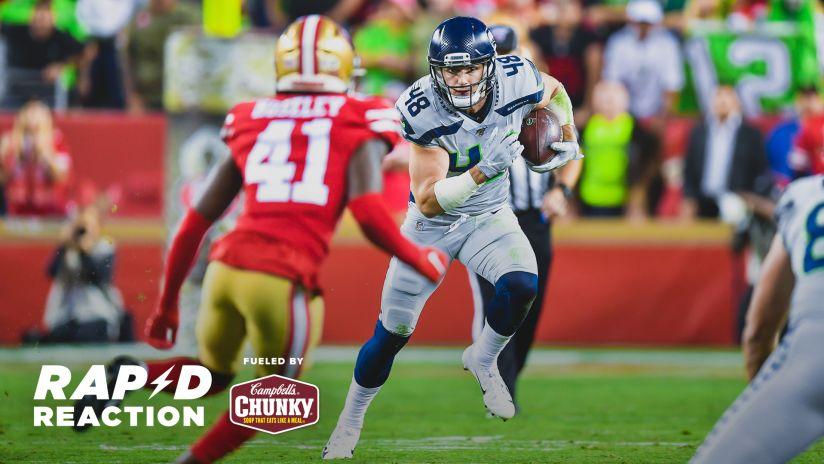 2019 Week 10 Rapid Reaction Seahawks 27 49ers 24