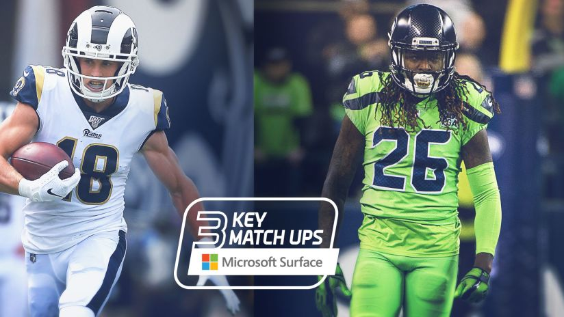 2019 Week 5 Key Matchups Seahawks Vs Rams