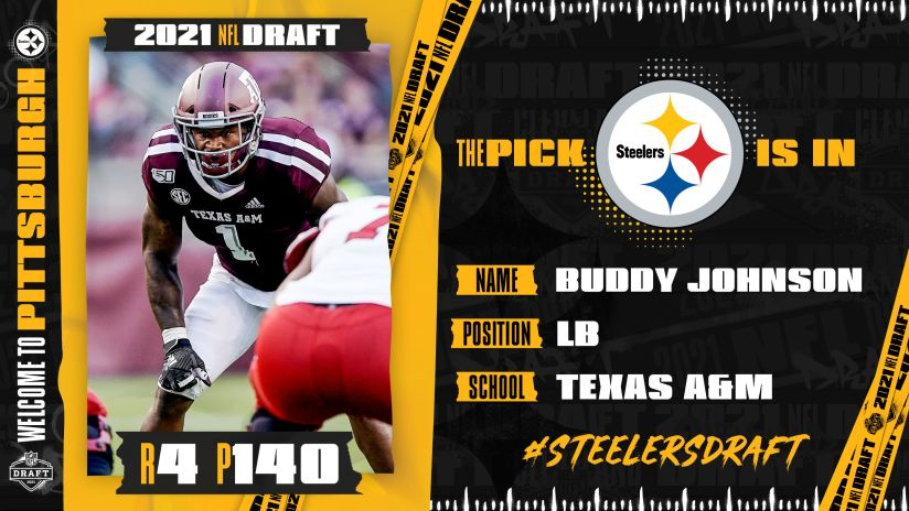 Steelers select Moore Jr. in the fourth round
