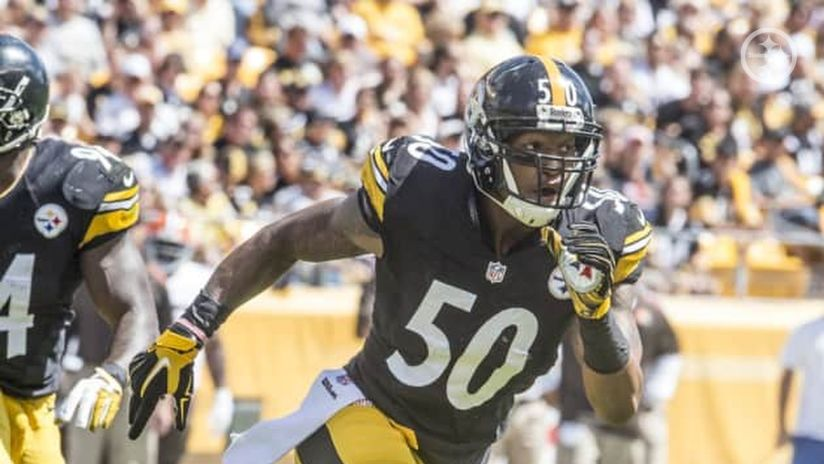 fa1bc73e5 See who has worn jersey No. 50 in Steelers history