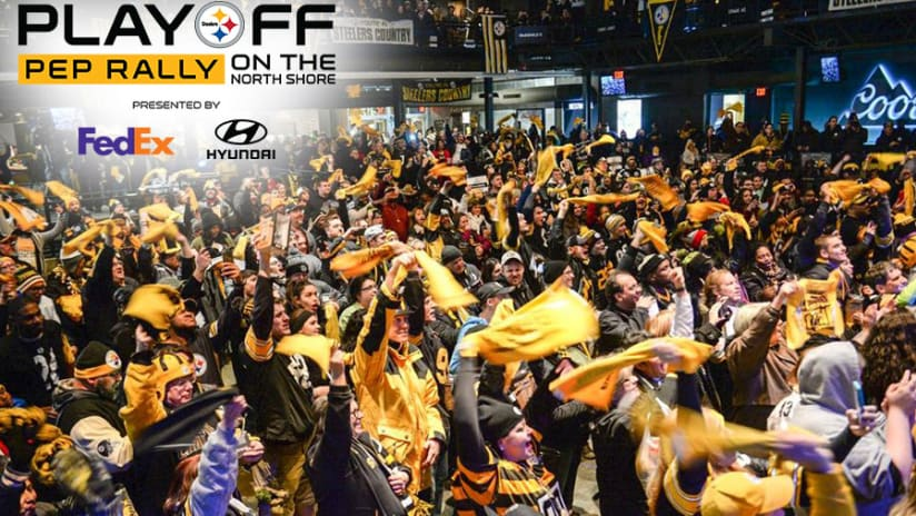Steelers to host Playoff Pep Rally